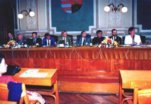 A vilákonferencia elnöksége