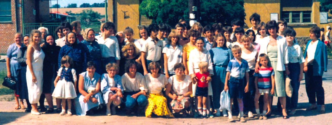 Galga-menti falujáráson 1985-ben